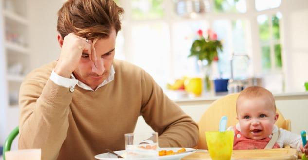 Studies Find Postpartum Depression in New Dads
