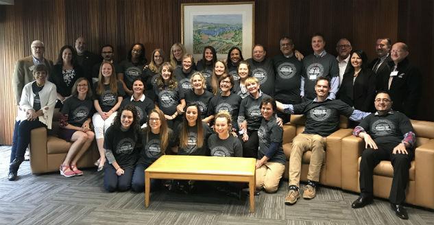DMU Residency Converges on Sterling Campus